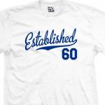 Established 1960 Script T-Shirt