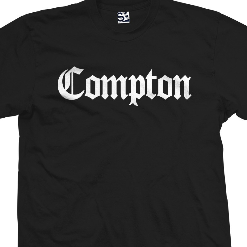 Compton Military Green Adult T-Shirt
