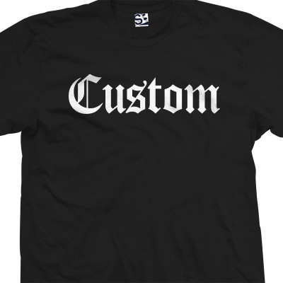 Custom Old English