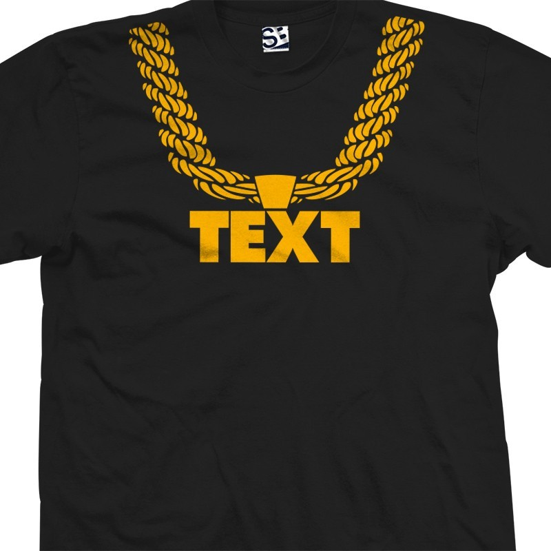 Dookie Rope Chain Custom Hip Hop T-Shirt