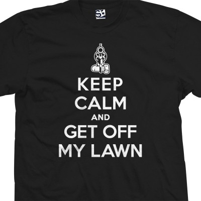 Get Off My Lawn Keep Calm