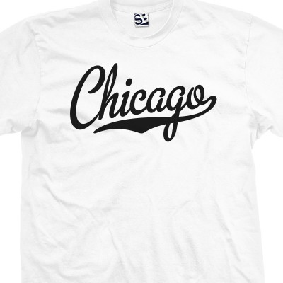 Chicago Script T-Shirt