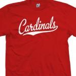 Cardinals Script T-Shirt