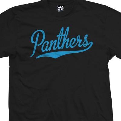 Panthers Script T-Shirt