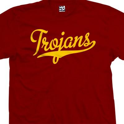 Trojans Script T-Shirt