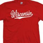 Wisconsin Script T-Shirt