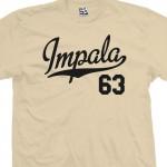 Impala 63 Script T-Shirt
