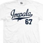 Impala 67 Script T-Shirt