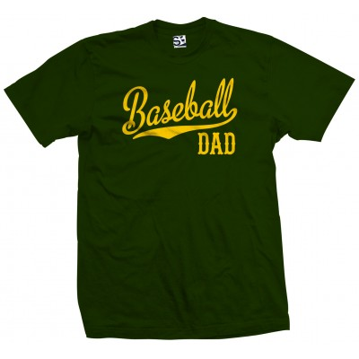 Baseball Dad Script T-Shirt
