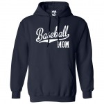 Baseball Mom Script and Tail Hoodie