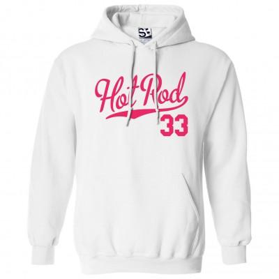 Hot Rod 33 Script Hoodie