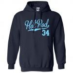 Hot Rod 34 Script Hoodie