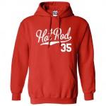 Hot Rod 35 Script Hoodie