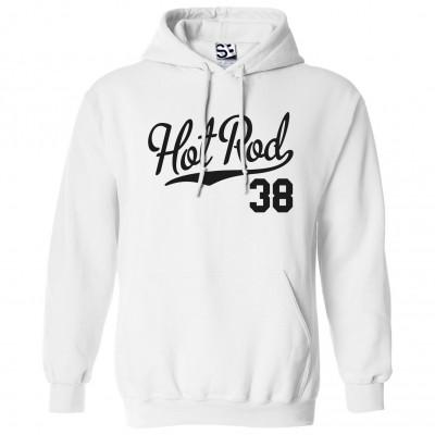 Hot Rod 38 Script Hoodie
