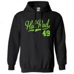 Hot Rod 49 Script Hoodie