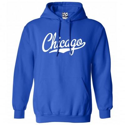 Chicago Script Hoodie