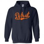 Detroit Script Hoodie
