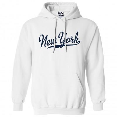 New York Script Hoodie