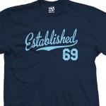 Established 1969 Script T-Shirt