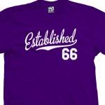 Established 1966 Script T-Shirt
