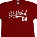 Established 1964 Script T-Shirt