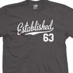 Established 1963 Script T-Shirt