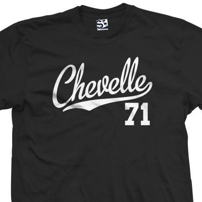 Chevelle 71 Script T-Shirt
