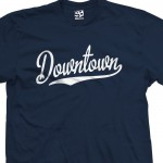 Downtown Script T-Shirt