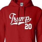 Trump 2020 Script Hoodie