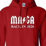 MAGA Back in 2020 ACDC Parody Hoodie